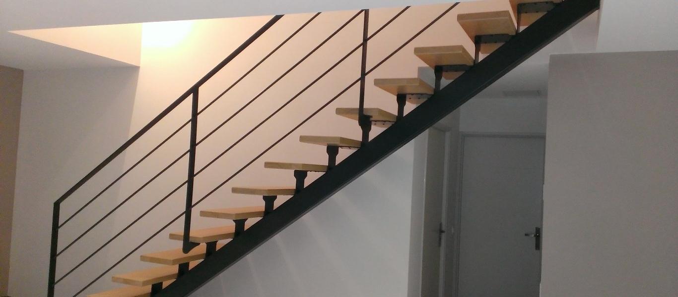 escalier poncy. Black Bedroom Furniture Sets. Home Design Ideas